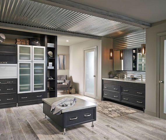 dark_gray_cabinets_casual_bathroom-570x480