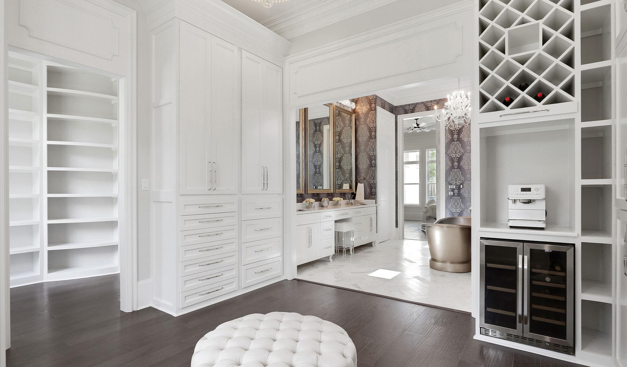 large custom bathroom